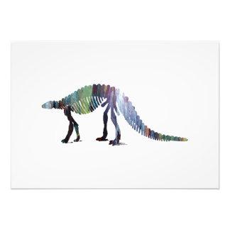 Dinosaur (Scelidosaurus) skeleton Photo Print