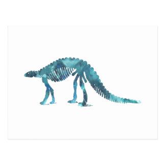 Dinosaur (Scelidosaurus) skeleton Postcard