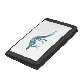 Dinosaur (Scelidosaurus) skeleton Tri-fold Wallet