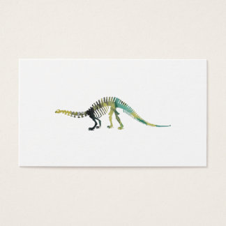 Dinosaur Skeleton Business Card