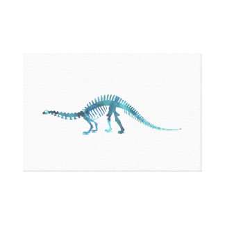Dinosaur Skeleton Canvas Print