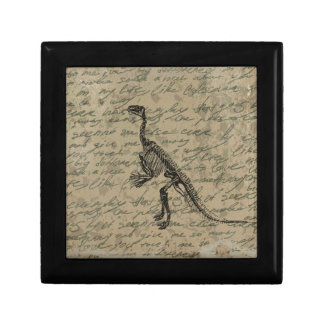 Dinosaur skeleton gift box