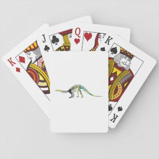 Dinosaur Skeleton Playing Cards