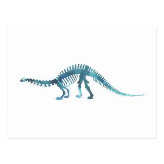 Dinosaur Skeleton Postcard