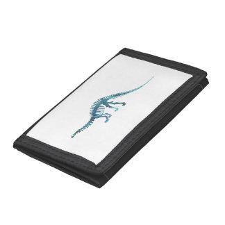Dinosaur Skeleton Tri-fold Wallets