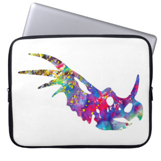 Dinosaur Skull Laptop Sleeve