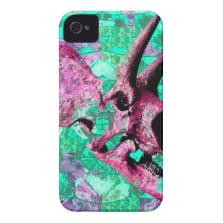 Dinosaur Skull Print Design iPhone 4 Case