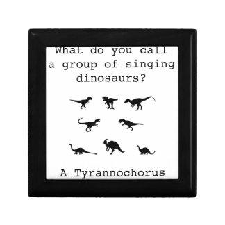 Dinosaur Small Square Gift Box