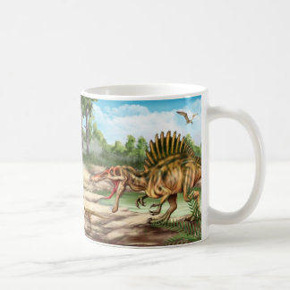 Dinosaur Species Basic White Mug