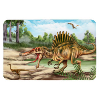 Dinosaur Species Flexi Magnet