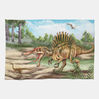 Dinosaur Species Kitchen Towel