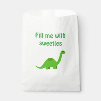Dinosaur Sweet Party Favour Bag Favour Bags