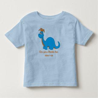dinosaur t-shirt blue