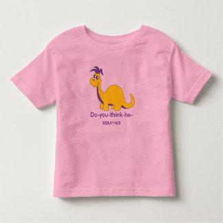dinosaur t-shirt pink