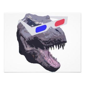 Dinosaur t-shirts invitations