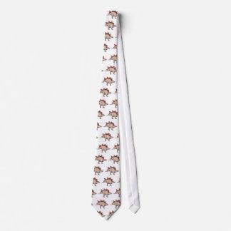 Dinosaur-themed clothing tie