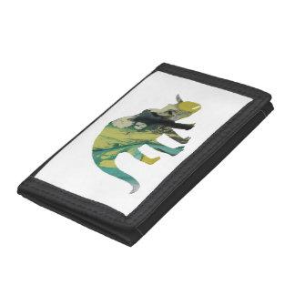 Dinosaur Tri-fold Wallet