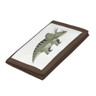 Dinosaur Trifold Wallet
