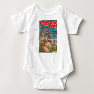 Dinosaur with a Big Tongue Baby Bodysuit