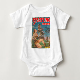 DINOsaur with a Long Tongue Baby Bodysuit