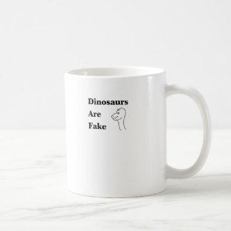 Dinosaurs are Fake Coffee Mug