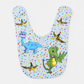 Dinosaurs Baby Bib