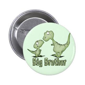 Dinosaurs Big Brother Pin