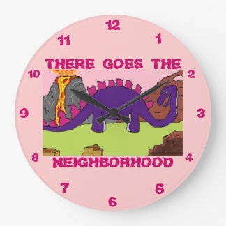 DINOSAURS - DINO NEIGHBORHOOD Clocks