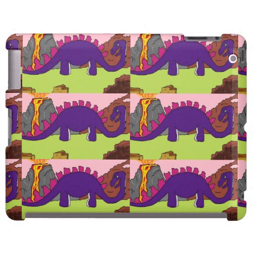 DINOSAURS - DINO NEIGHBORHOOD iPad Cases
