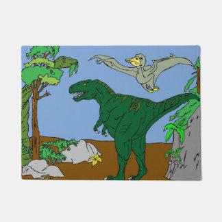 Dinosaurs Doormat
