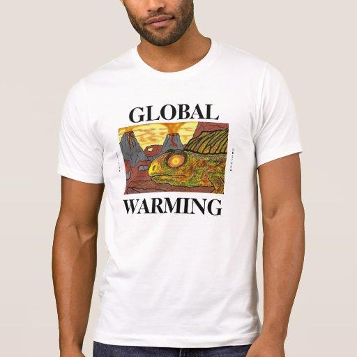DINOSAURS GLOBAL WARMING HUMOROUS FUNNY SHIRTS TEE