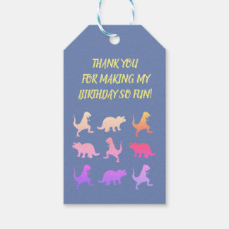 Dinosaurs  Kids Custom Gift Tags