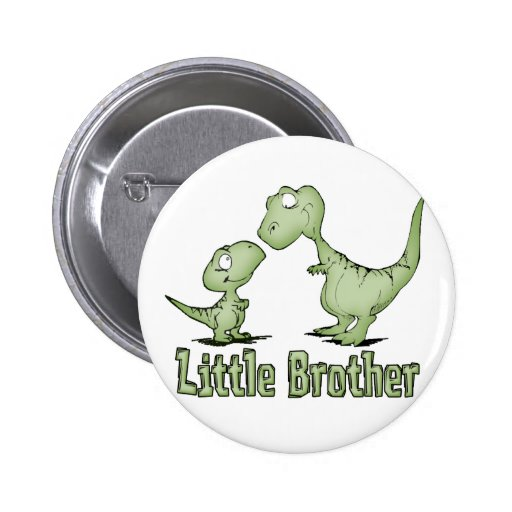 Dinosaurs Little Brother Pin
