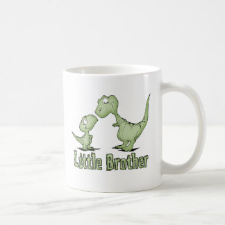 Dinosaurs Little Brother Classic White Coffee Mug
