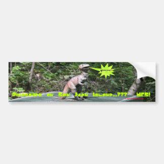 Dinosaurs on San Juan Island Bumper Sticker