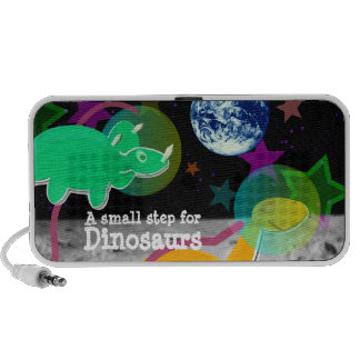 Dinosaurs on the Moon Notebook Speakers