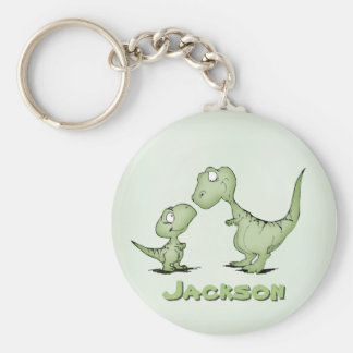 Dinosaurs Personalised Key Ring