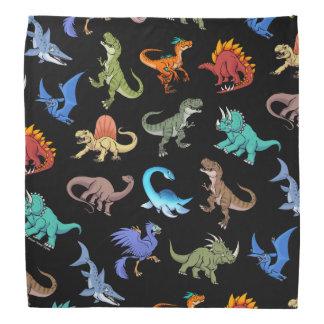 Dinosaurs Rainbow II School supplies Bandana