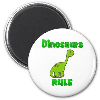 Dinosaurs Rule Magnet