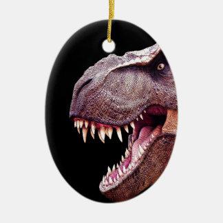 Dinosaurs T-Rex Ceramic Ornament