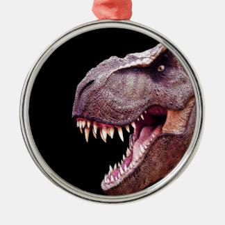 Dinosaurs T-Rex Metal Ornament