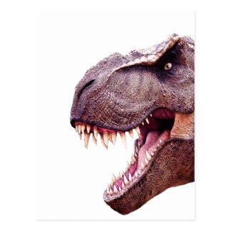 Dinosaurs T-Rex Postcard