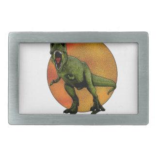 Dinosaurs T-Rex Rectangular Belt Buckle