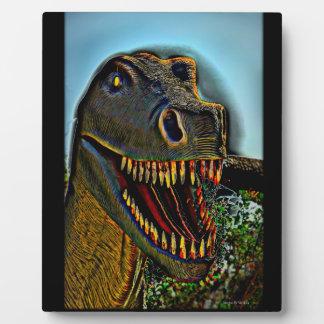 Dinosaur's Teeth Plaque
