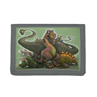 Dinosaurs Tri-fold Wallet