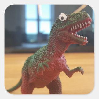 dinosawr_rawr square sticker
