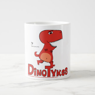 Dinotykes Ty is a Tyrannosaurus Rex Large Coffee Mug