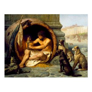 Diogenes by Jean-Leon Gerome Postcard