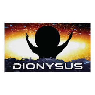 Dionysus Poster - Extra Large