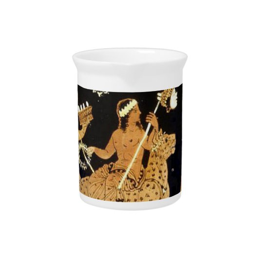 dionysus procession pitcher